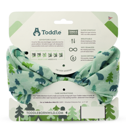Toddle scarf back